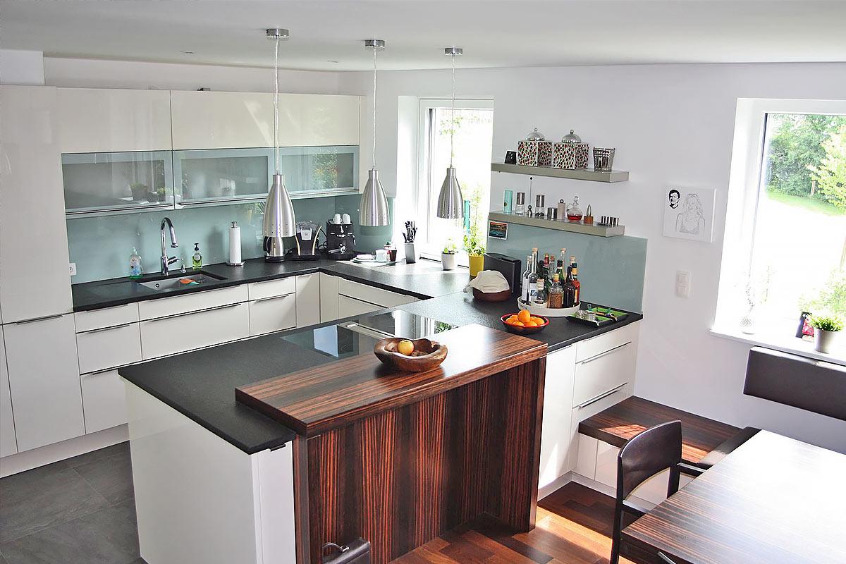 227-07 ATOS Generalsanierung 1190 Wien - Küche von oben