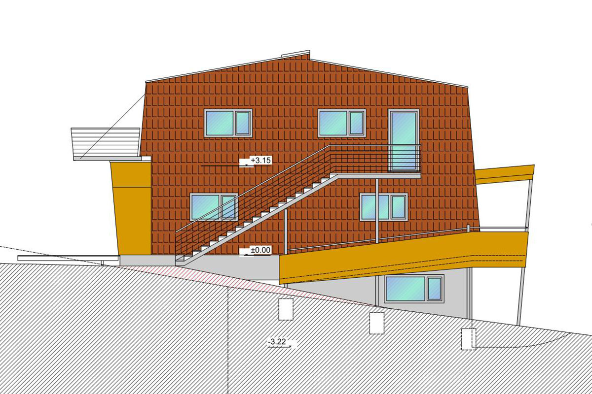 241-11 ATOS Cohousing Strohsiedlung Maria Anzbach - ENT-111115-Ansicht-O-p1