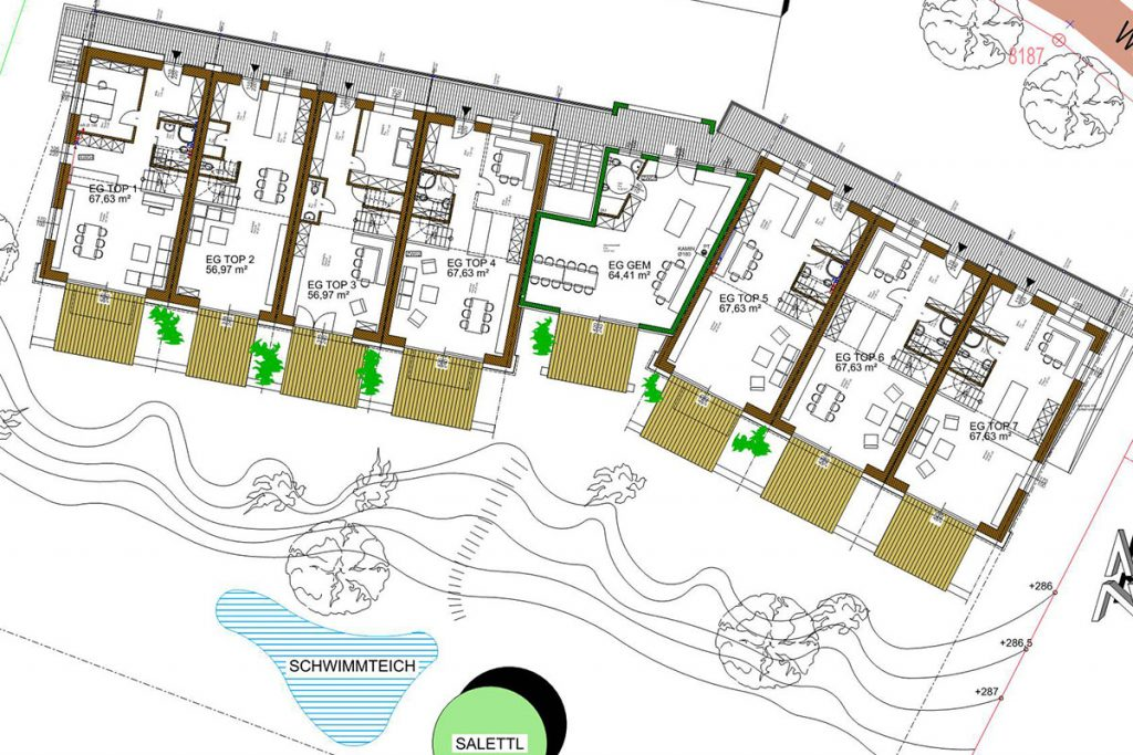 241-21 ATOS Cohousing Strohsiedlung Maria Anzbach - ENT-111025-EG-p1